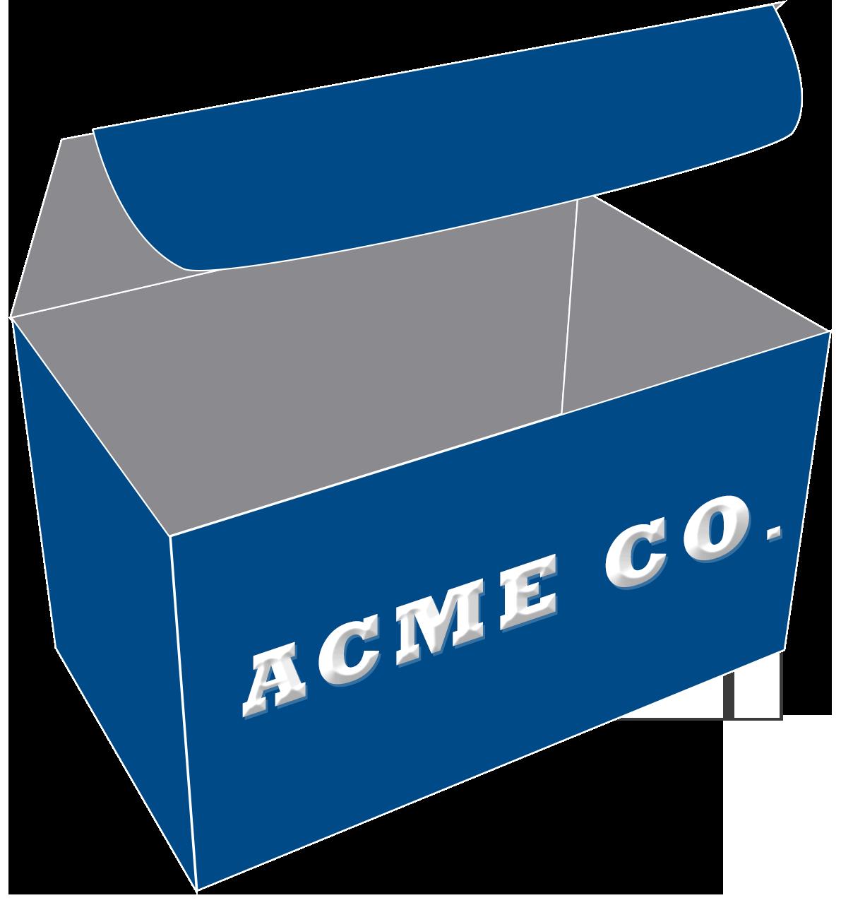 Custom box printing - add names, logos or graphics